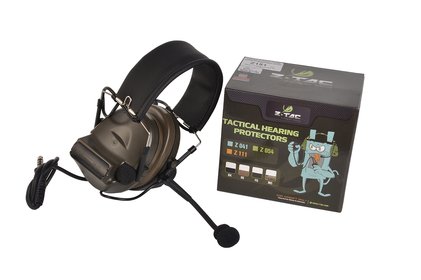 Z151 zComtac II headset basic version