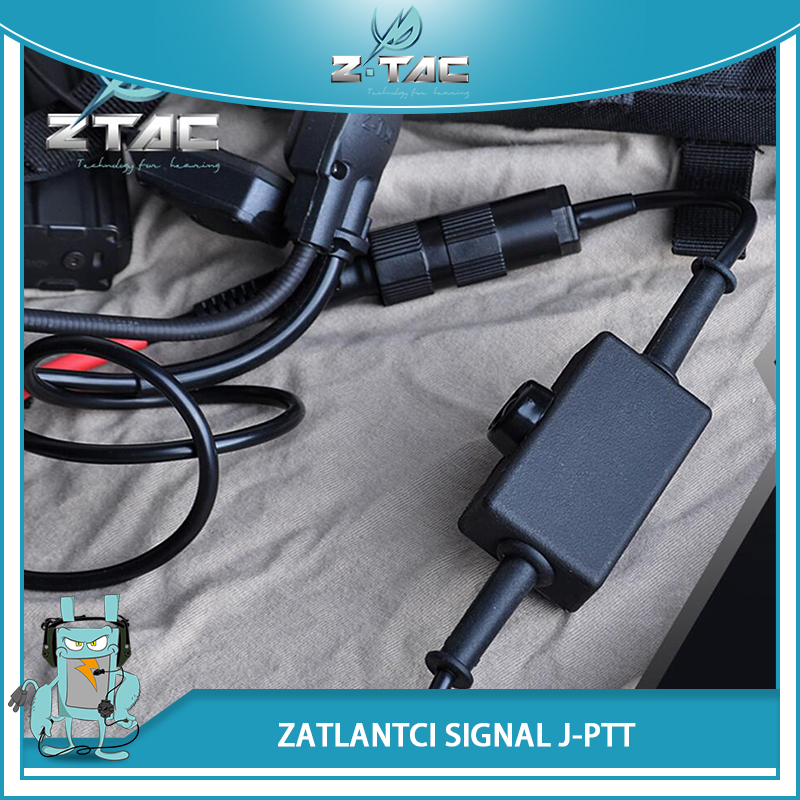 MH180-V Atlantic Signal Military PTT Portable Miland Version Radio Headset Accessories Z144