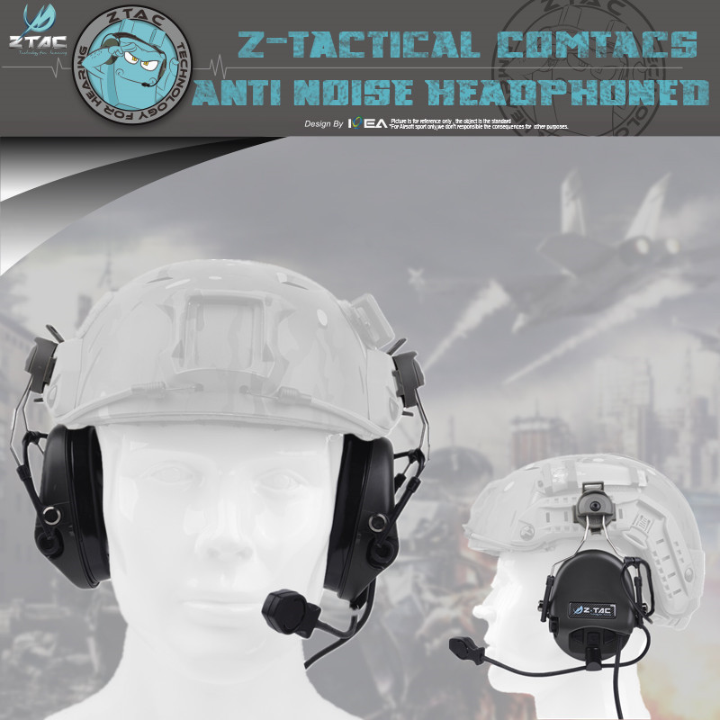 Z-Tactical Z034 Sordin Headset for Fast Helmet Rail Adapter Headset New arrivals Sordin headset